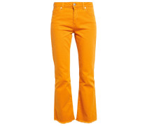 Flared Jeans - inca gold