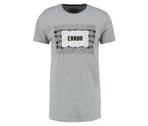 PIN - T-Shirt print - cinza