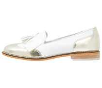KENNA Slipper snow white/gold