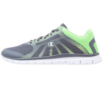 ALPHA - Laufschuh Neutral - grey/lime