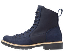 ROOFER - Schnürstiefelette - dark navy