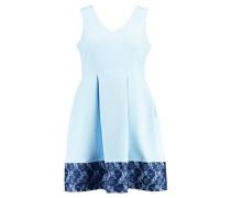 Freizeitkleid - light blue with navy lace