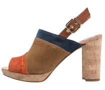 High Heel Sandaletten multicolor