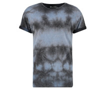 MUSCLE FIT TShirt print mid blue