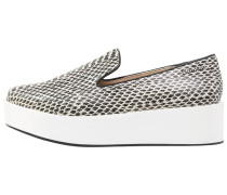 REVA Slipper black/white