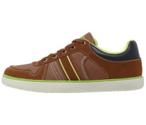 Sneaker low light brown