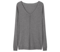 HARAMON Strickpullover medium heather grey