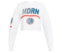 MDRN - Langarmshirt - white