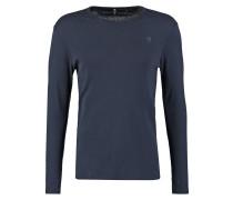 GStar BASE R T L/S SLIM FIT Langarmshirt saru blue