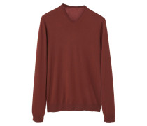 WILLY Strickpullover russet