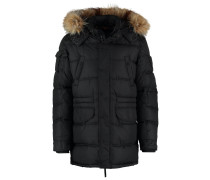 CARLOW WISNER Wintermantel black