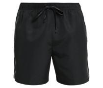 Badeshorts black/grey
