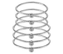 CYVIEL 6 PACK - Ring - rhodium