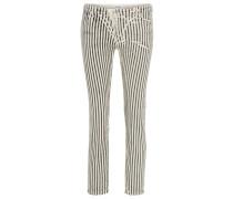 ALVA - Jeans Slim Fit - beige/black