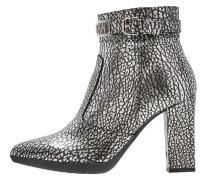 High Heel Stiefelette argento