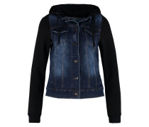 Jeansjacke dark blue & black