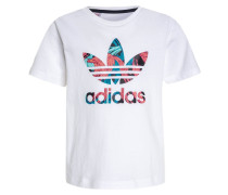 FEATHER - T-Shirt print - white/multcolor