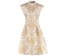 CHAR Cocktailkleid / festliches Kleid cream/gold