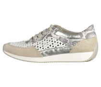 Sneaker low - pebble/white/grey/silver
