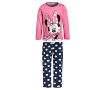 MINNIE Pyjama rosa/navy