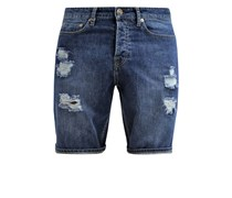 STAN Jeans Shorts repaired stone