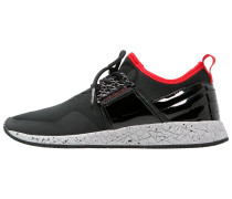 KATSURO Sneaker low deep black/red/light grey