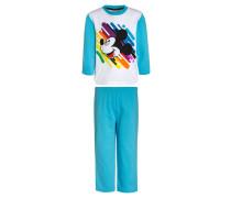 Pyjama aquarius/white/peacoat