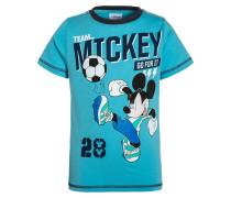 MICKEY TShirt print hellblau