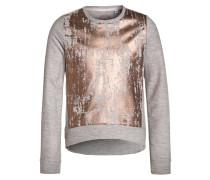 Sweatshirt stone melange