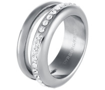 TIVA Ring shiny silvercoloured