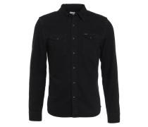 SLIM FIT - Hemd - black