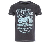 TADEUSZ - T-Shirt print - anthra melange