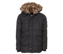 SNORK Wintermantel black