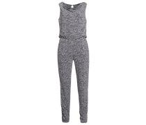 Jumpsuit grey/black