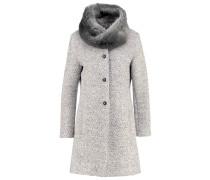 Wollmantel / klassischer Mantel light grey