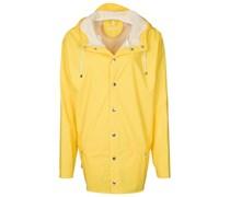 Regenjacke / wasserabweisende Jacke yellow