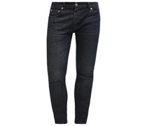 SKINNY JEANS DARK WASH STRETCH Jeans Skinny Fit dark blue