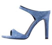 TALIA - Pantolette hoch - Aegean Blue