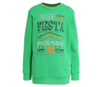 Sweatshirt - green/orange