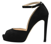 High Heel Peeptoe - black