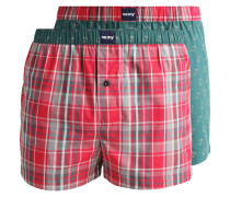 2 PACK Boxershorts rosso