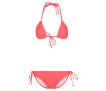 ESSENTIALS Bikini shored/white