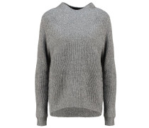 VERDENA Strickpullover grey melange
