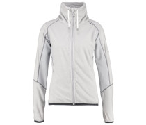 MONS Fleecejacke light steel