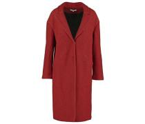 PLARI Wollmantel / klassischer Mantel rust
