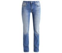 OLIVIA - Jeans Straight Leg - shaded stretch