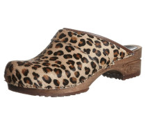 CAROLINE Clogs brown leopard