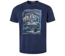 T-Shirt print - dunkelblau