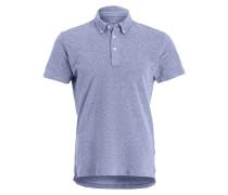 Poloshirt - blue oxford
