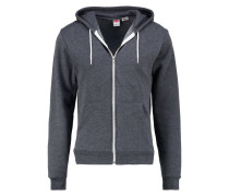 Sweatjacke dark heather grey